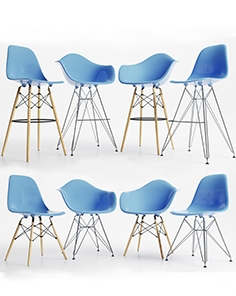 Eames Plastic Side Chairs
