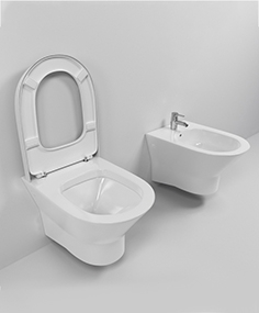 Suspended toilet and bidet Roca Nexo