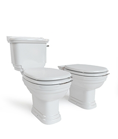 The toilet and bidet Classica
