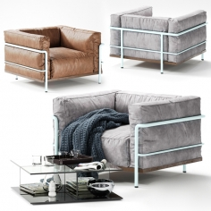 Cassina  LC3 Exemplaire Personnal