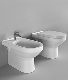 Squat toilet and bidet Villeroy Boch O'Novo
