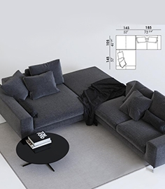 Busnelli take it  easy sofa  + coffee table
