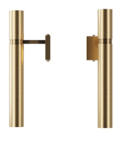 Brass sconces Tube, art. 3423 from Pikart lights