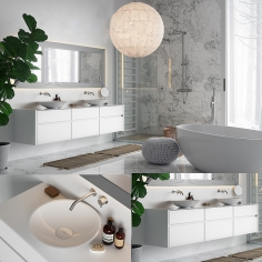 Cocoon bathroom set