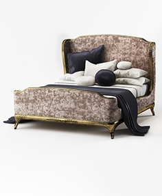 Bed US Cali King Jonathan Charles Fine furniture Versailles 494 762-W1-F9