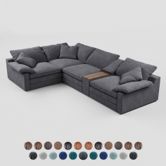 Corner modular sofa Alto, Alto Sectional Group