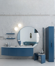 Furniture, plumbing and decoration in the bathroom - Cerasa - Maori
