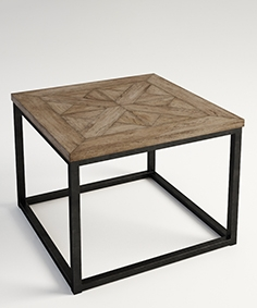 Gramercy Home  - Burston  side table 522.002