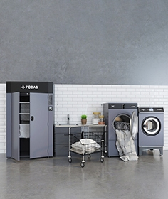 Podab, washing and drying equipment