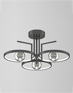 Chandelier for ceiling Odeon light  4031,40CL