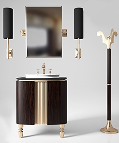 Furniture for bathrooms Karol Bania