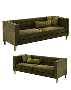 Crate and Barrel Aidan sofa 1