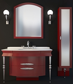 Euro design bathroom furniture