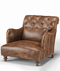 Cisco Brothers Acacia british industrial  armchair