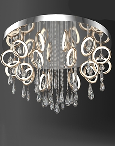Chandelier for ceiling odeon light 4034,099CL