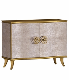 Hooker Furniture living room Melange Golden Swirl chest