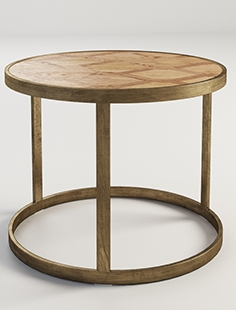 Gramercy Home - Vernon side table 522.023