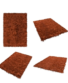 Deep-pile carpet