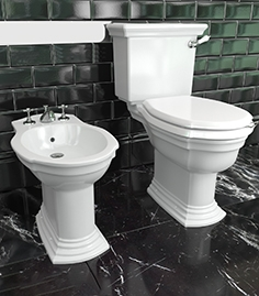 Toilet bowl and bidet Devon and Devon Westminster
