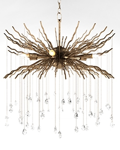 Chandelier Currey and company Fen