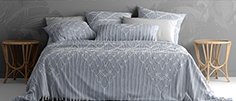 Bed with bedding adairs australia