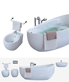 Set of bathroom Villeroy and  Boch Aveo