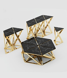 Eichholtz Galaxy table set