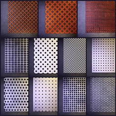 Perforated panel 1