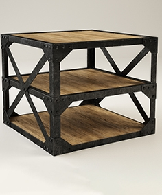 Gramercy Home - tower side table 522.001