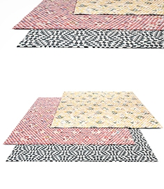 Golran Triangles rug set 2