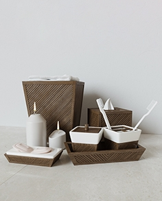 Decorative set Creative Bath, Spa Bamboo Collection