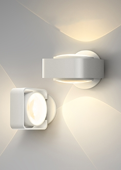 Glow wall light