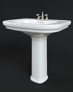 Washbasin Devon and Devon classica