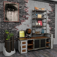 Decorative set loft 6