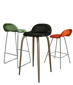 Gubi  chair  collection