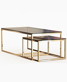 Dome deco coffee tables
