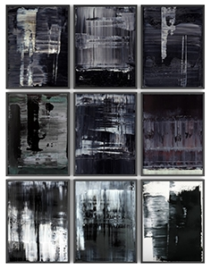 Paintings by Koen Lybaert set 1