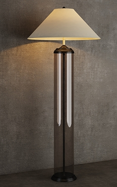 Gramercy Home- floor lamp FL017-1-BBZ