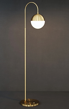 Gramercy Home  - Autry floor lamp FL046-1-RG