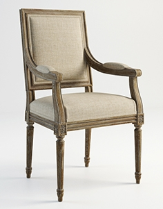 Gramercy Home - Oliver chair 441.003