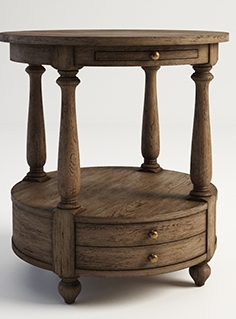 Gramercy Home - Stanley side table 522.011-2N7