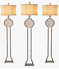 Murray Feiss Marcella 1Lt floor lamp