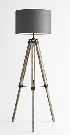 Lamp Harley Tripod floor lamp