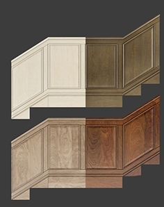 Wall panels set 4