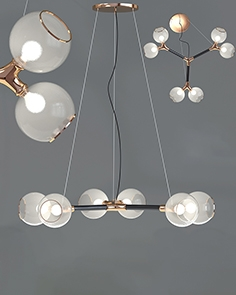 Chandelier Horus Suspension light 6