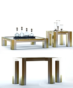 Eichholtz Titan tables and console