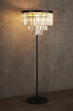 Gramercy Home - floor lamp FL015-8-ABG