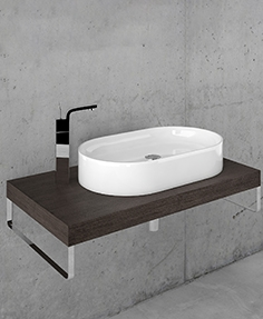 Washbasin Kerasan Ciotola with worktop