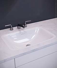 Boch - Loop and amp washbasin
