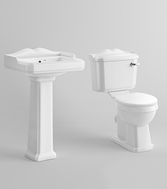 Washbasin and toilet 2